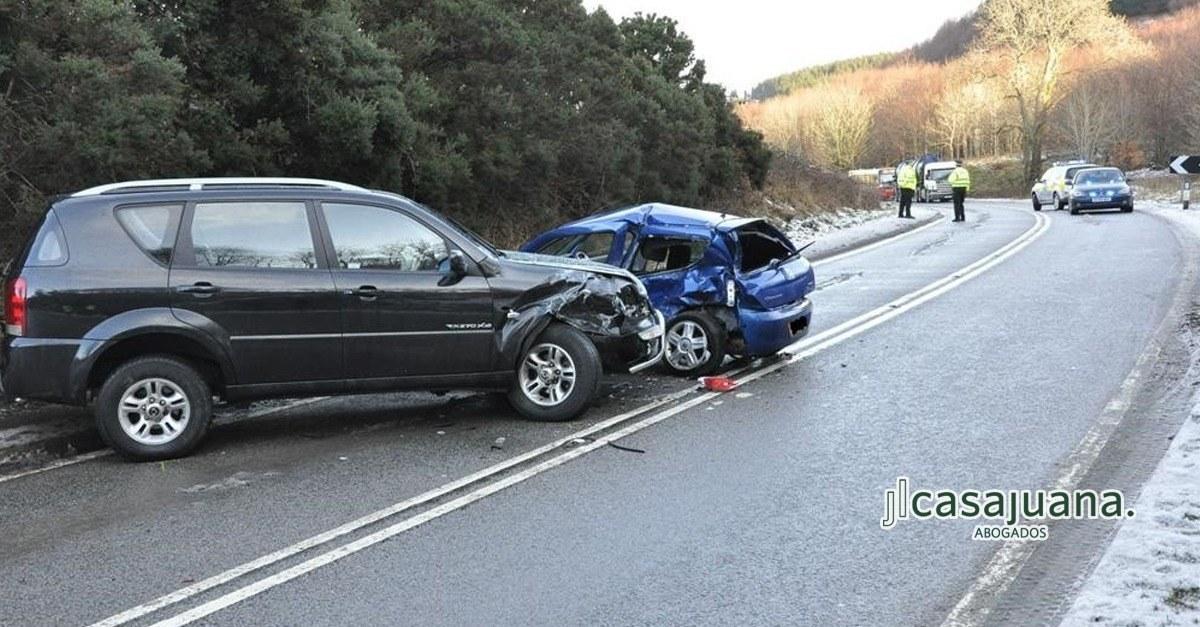 Reclamar una indemnización por accidente de coche