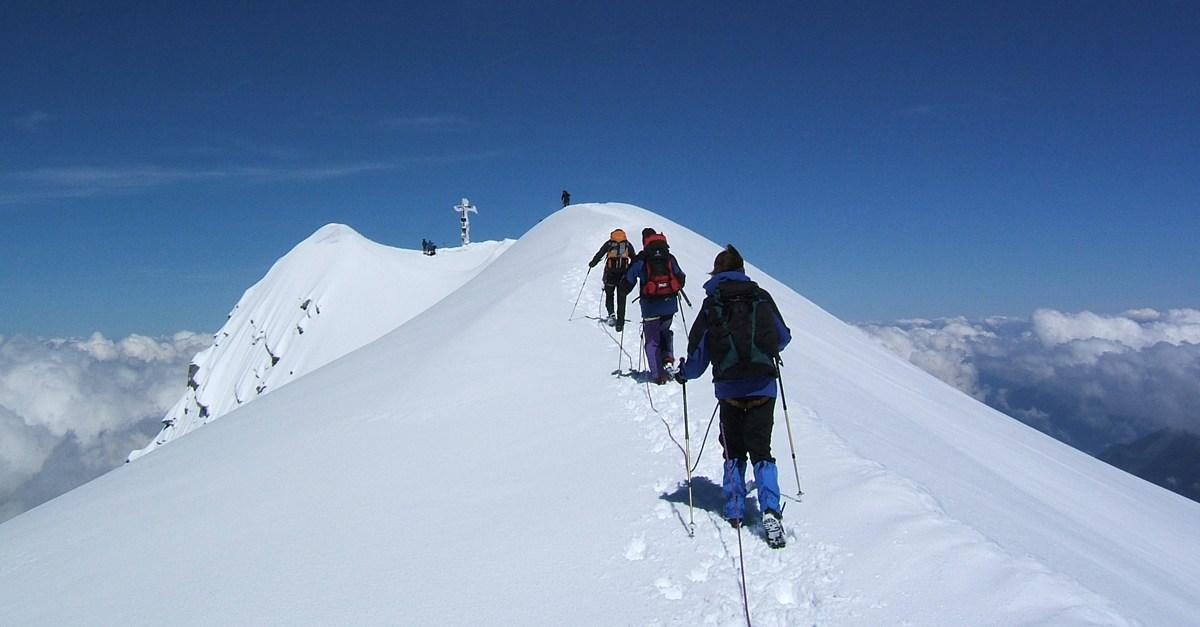Indemnización por accidente en montaña