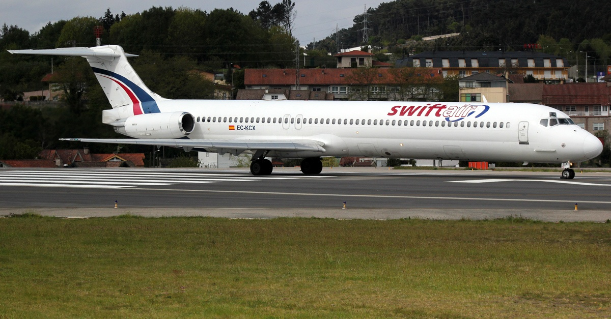El accidente Aéreo de Swiftair