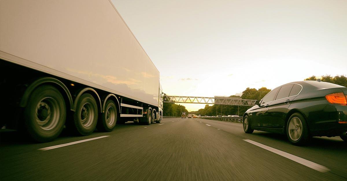 Accidentes de tráfico entre camiones