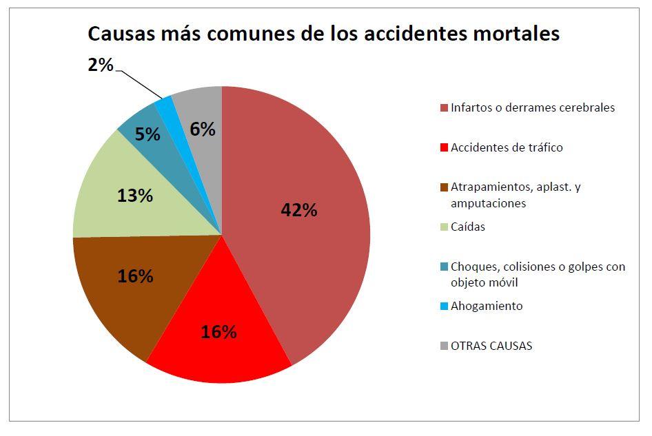 Causas más comunes de los accidentes mortales