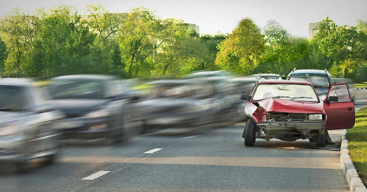 Los Accidentes de tráfico más frecuentes