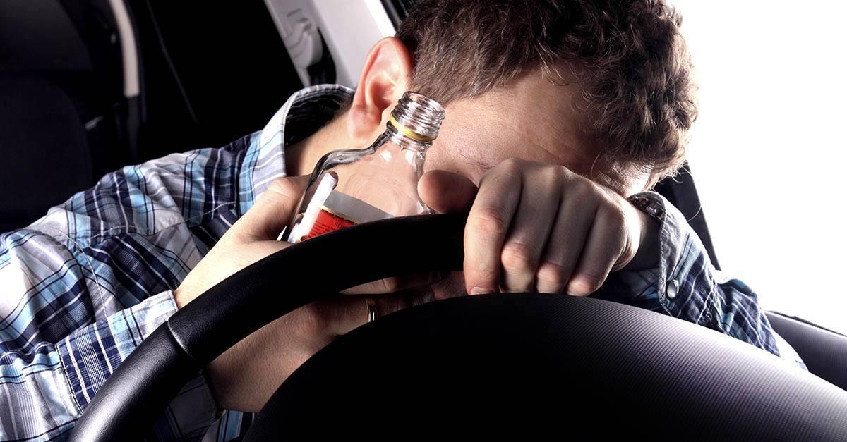 Accidente de tráfico por culpa de conductor ebrio