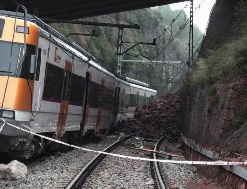 Accidente en tren Rodalies