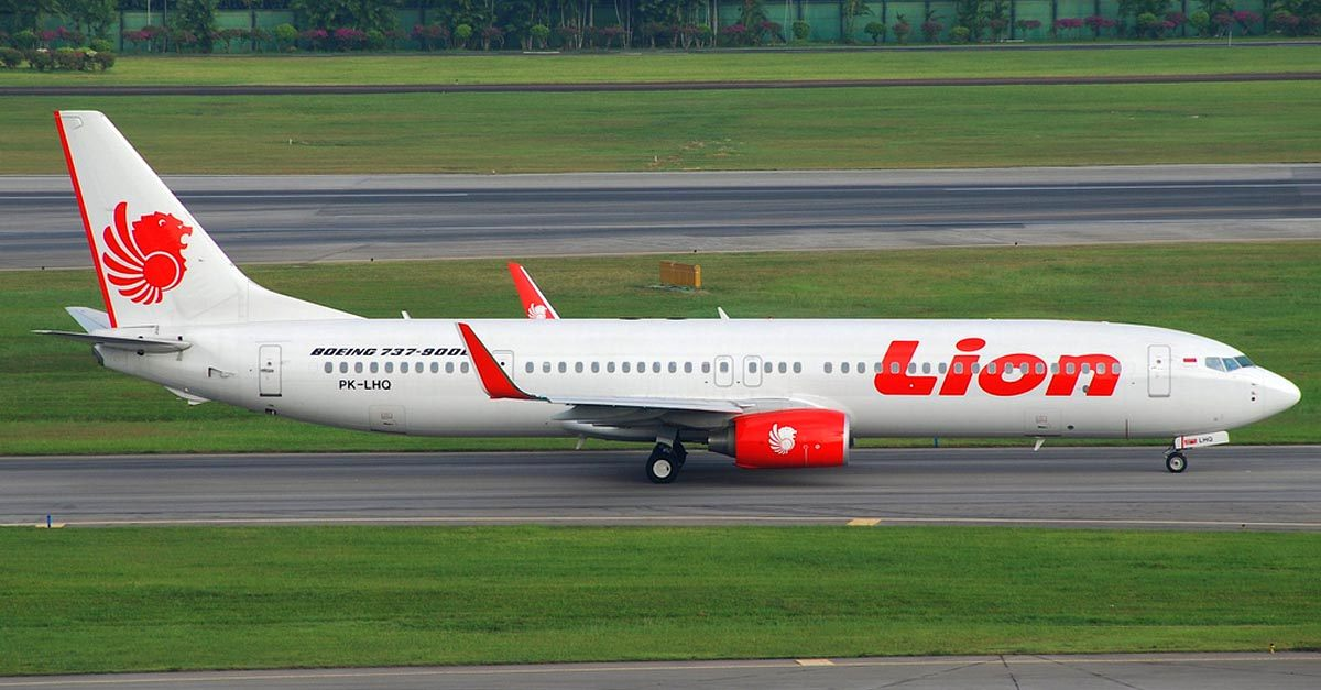 El accidente aéreo de Lion Air