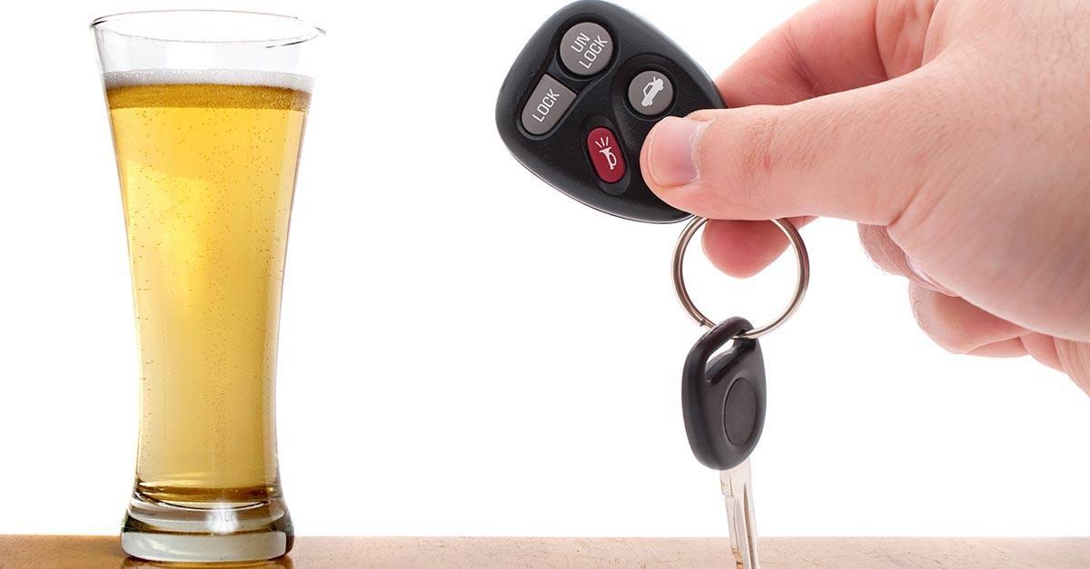 Accidente de tráfico con alcohol