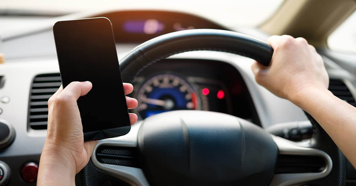 Accidentes de tráfico por el uso del móvil
