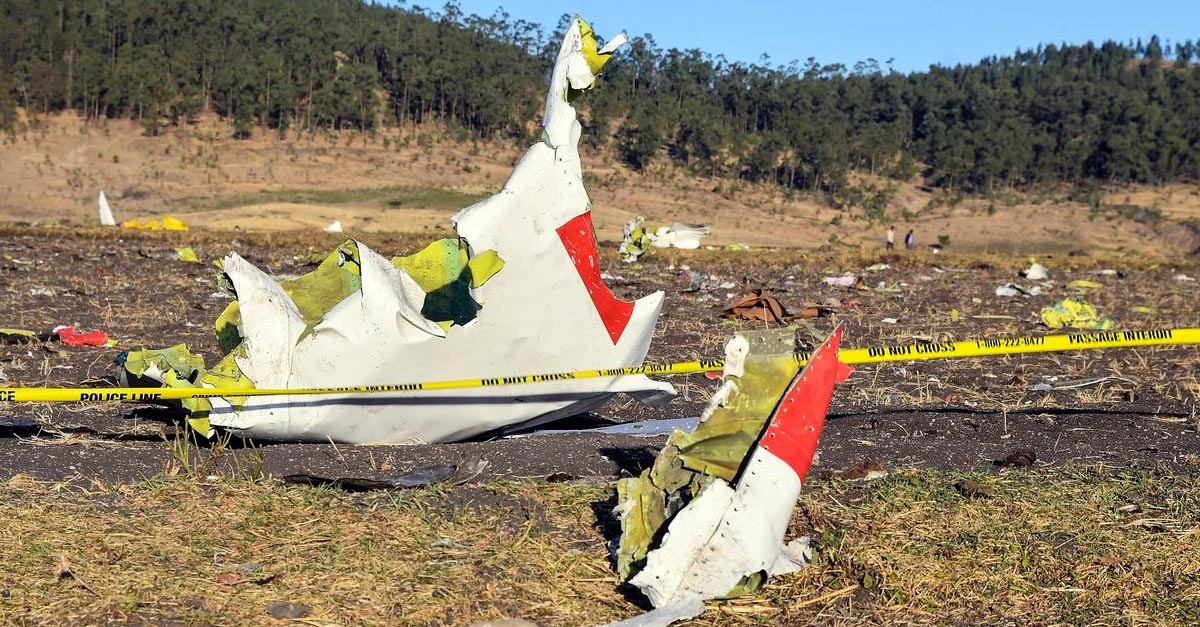 Accidente aéreo Etiopia
