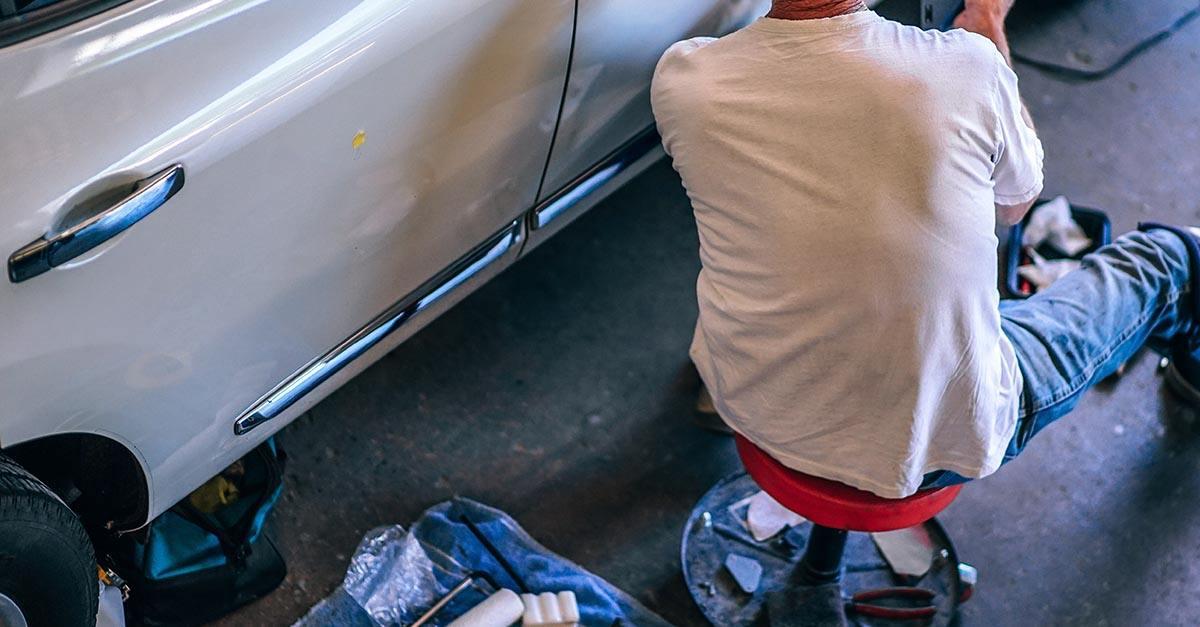 Accidente por aperturas de puerta sin precaución