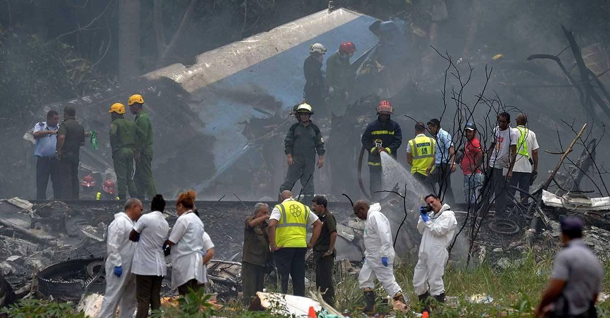 Reclamación de indemnización de familiares del accidente aéreo en Cuba